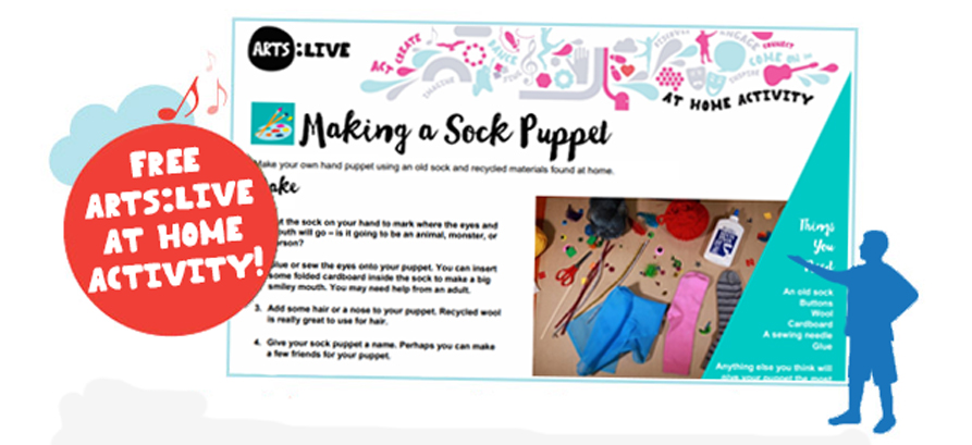 Make a Sock Puppet